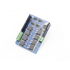 Dual Channel H-Bridge Motor Shield 22V 8A