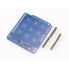 Capacitive Touch Num Pad Shield