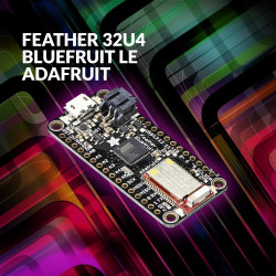 Feather 32u4 Bluefruit LE: The New Standard of Microcontroller Portability