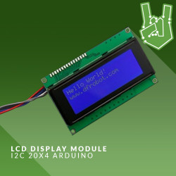 LCD 20x4: I want 2 C!