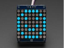 LED Matrix Adafruit Small 1.2 8x8 with I2C Backpack Blue