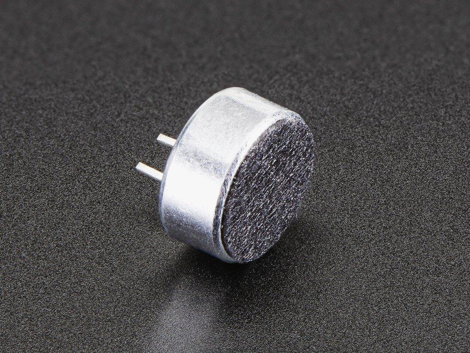 Electret Microphone 20Hz-20KHz Omnidirectional 3PCS