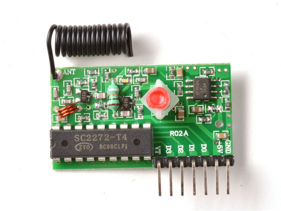 Simple RF L4 Receiver 315MHz Latching Selector Type