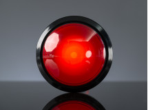 Arcade Massive Button with LED 100mm Red