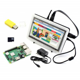 Raspberry Pi 3 Model B+ LCD HDMI Kit