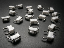Tactile Switch Buttons 6mm slim x 20 pack