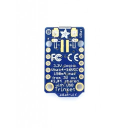 Trinket Adafruit Mini Microcontroller - 3.3V Logic - MicroUSB