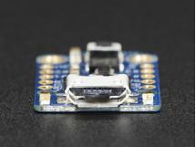 Trinket Adafruit Mini Microcontroller - 3.3V Logic - MicroUSB