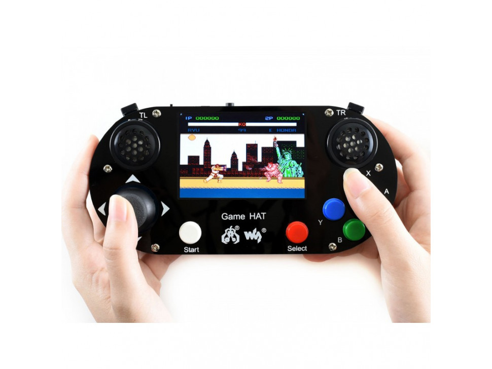 Raspberry Pi Pack Game HAT Micro SD Card Power Adapter