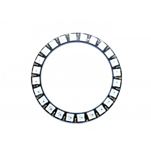 neopixel ring 24x5050 rgb led with integrated drivers