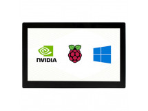 13.3inch Capacitive Touch Screen LCD with Case V2, 1920x1080, HDMI, IPS, Various Systems Support for Raspberry Pi