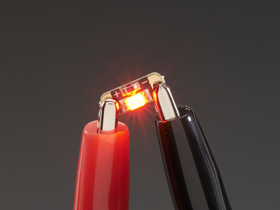LED Sequins Adafruit Ruby Red - Pack of 5