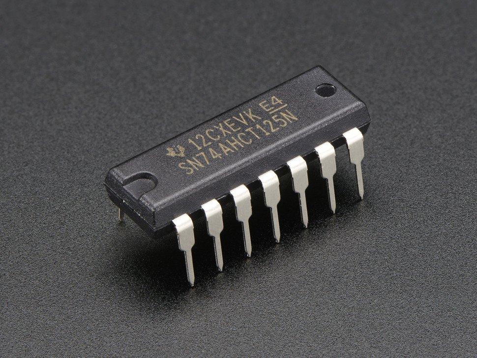 Quad Level-Shifter 3V to 5V 74AHCT125