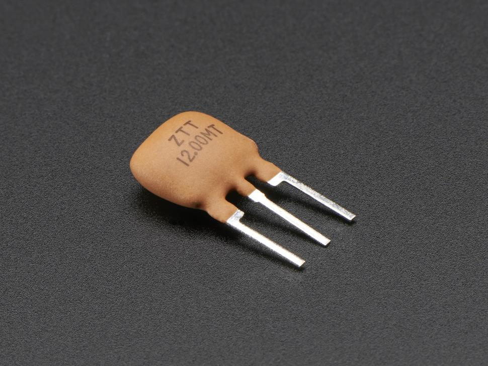 12 MHz Ceramic Resonator / Oscillator