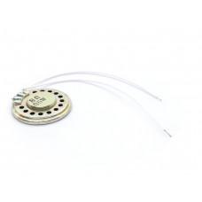 Mini Metal Speaker w/ Wires 8 ohm 0.5W