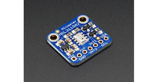 Altimeter Barometric Pressure Altitude Temperature MPL3115A2 I2C Sensor