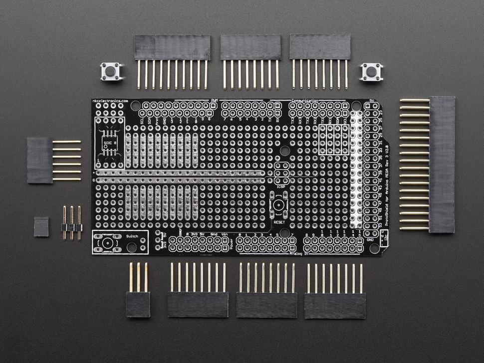 Arduino Mega Protoshield