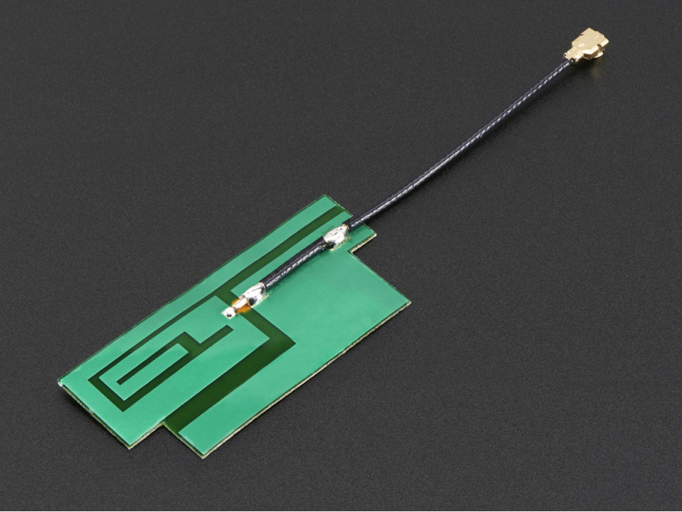 GSM Cellular Quad-Band Antenna Slim Sticker-type 3dBi uFL