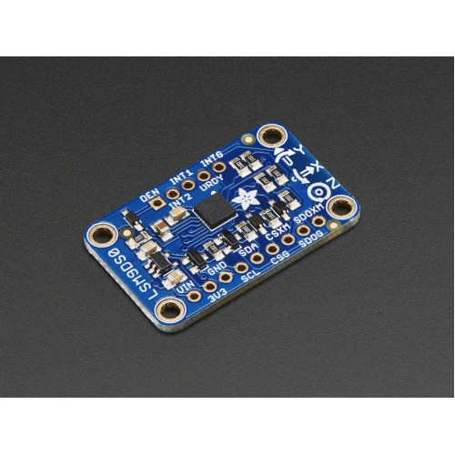 Accelerometer Magnetometer Gyroscope Temp 9-DOF Breakout Board LSM9DS0