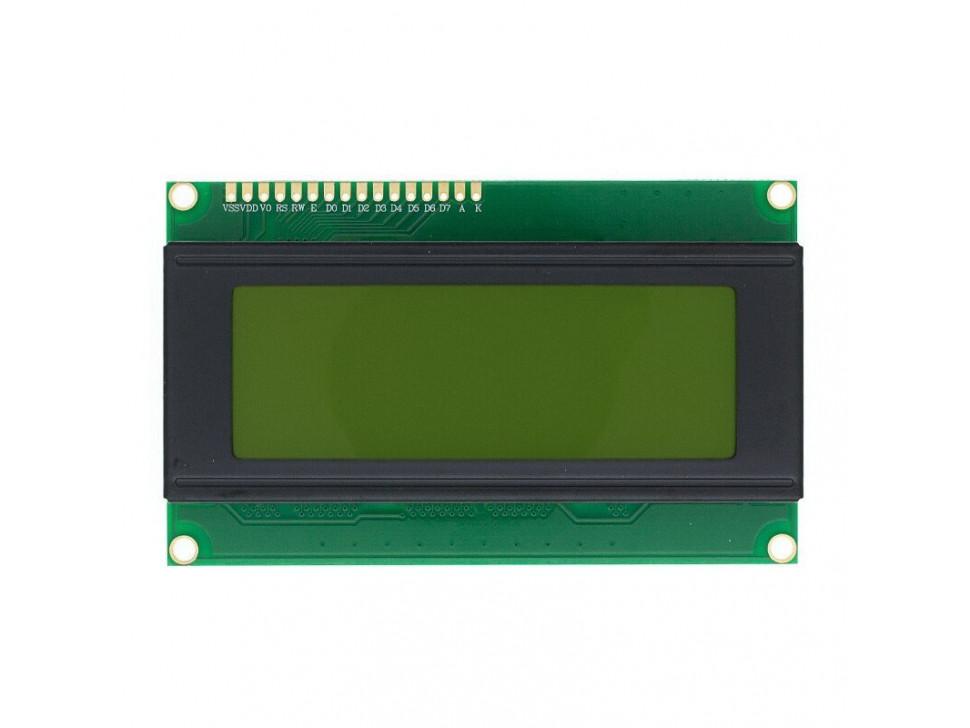 LCD Display Module I2C 20x4 Yellow Arduino
