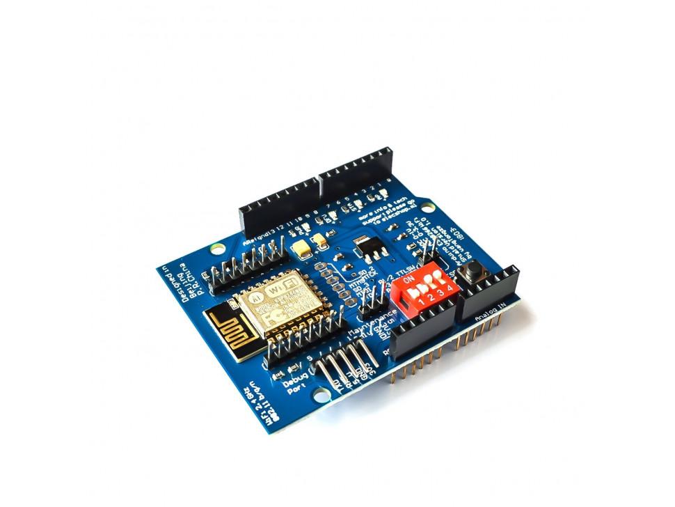 ESP8266 WiFi GPIO Shield for Arduino