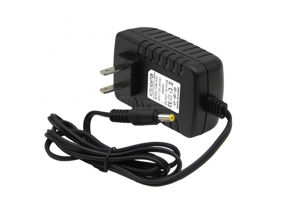 AC / DC 5V DC Plug 3A 4.0mm x 1.7mm Power Supply Adapter Wall Outlet for Orange Pi