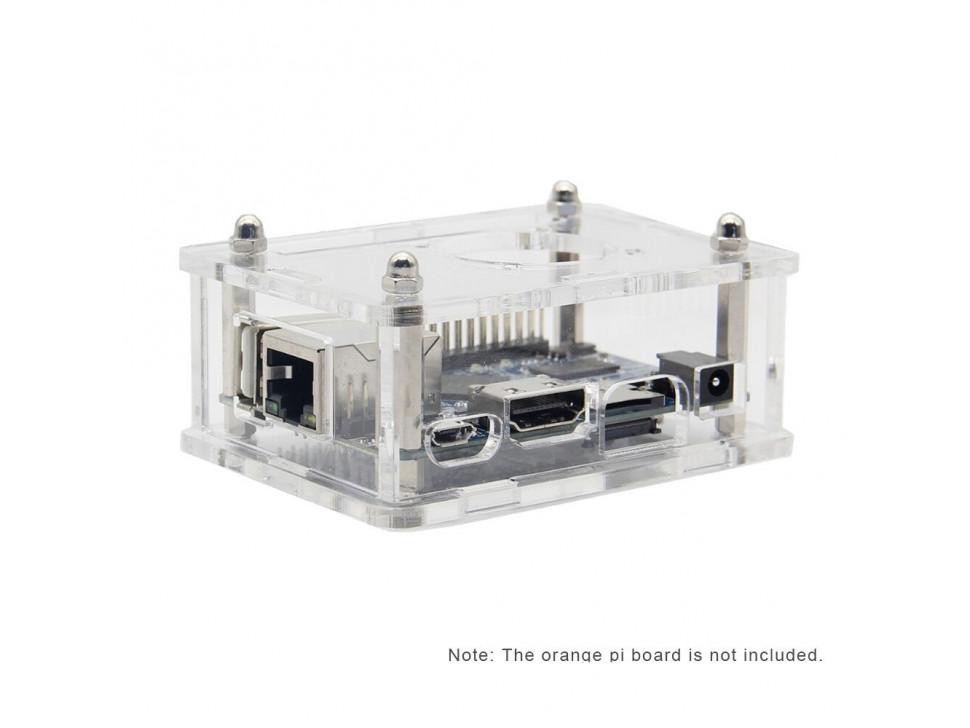 Orange Pi One Acrylic Case Transparent Box Protective Case Shell