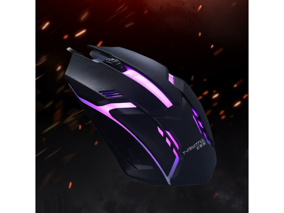 Gaming Mouse Ergonomic Wired Mouse Mouse Gamer Mice Silent Mouse with Backlight for PC Laptop