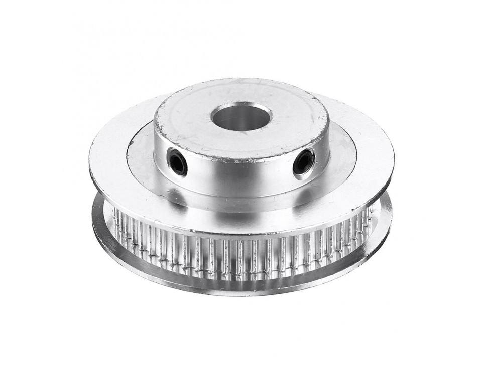 Aluminum GT2 Timing Pulley - 6mm Belt - 60 Tooth - 5mm Bore