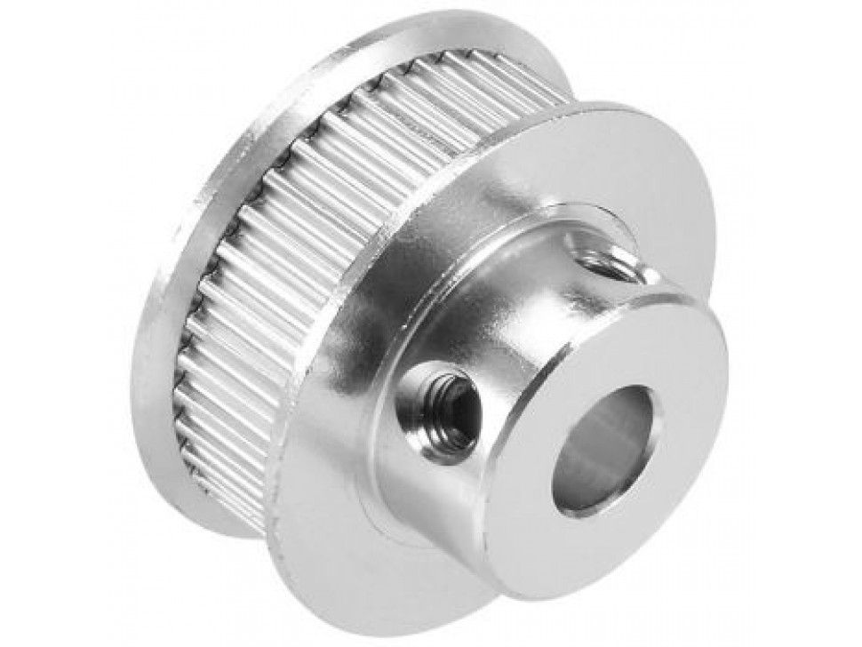 Aluminum GT2 Timing Pulley - 6mm Belt - 40 Tooth - 8mm Bore