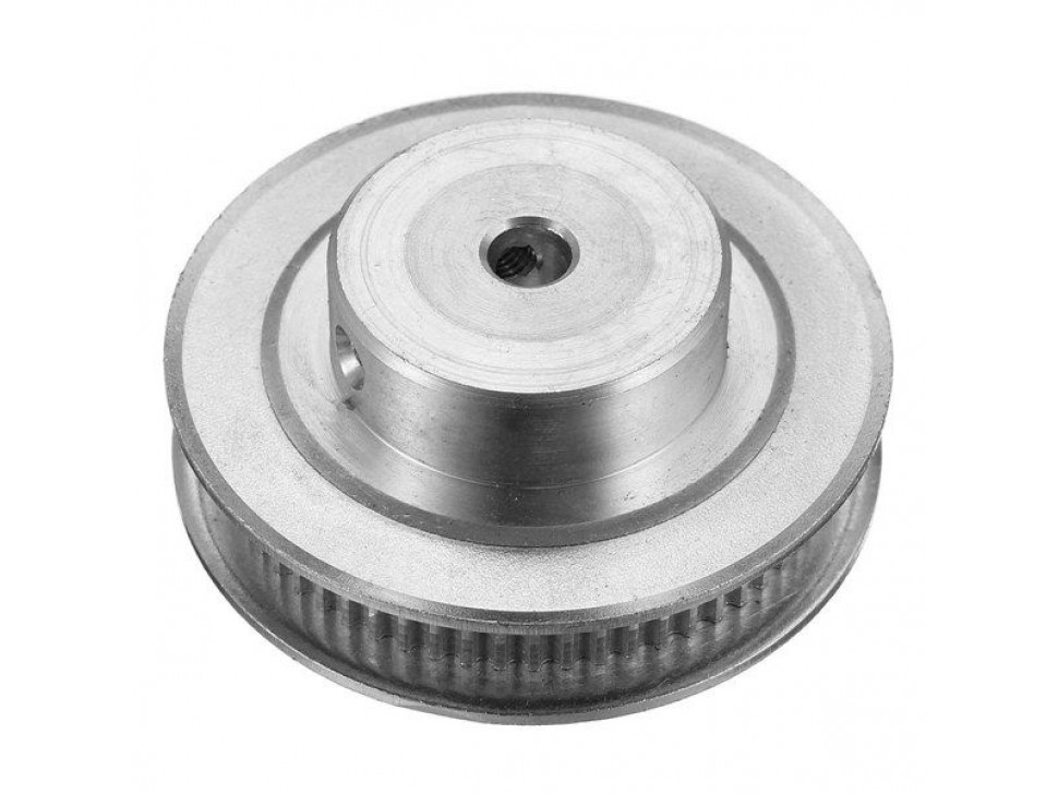 Aluminum GT2 Timing Pulley - 6mm Belt - 40 Tooth - 5mm Bore