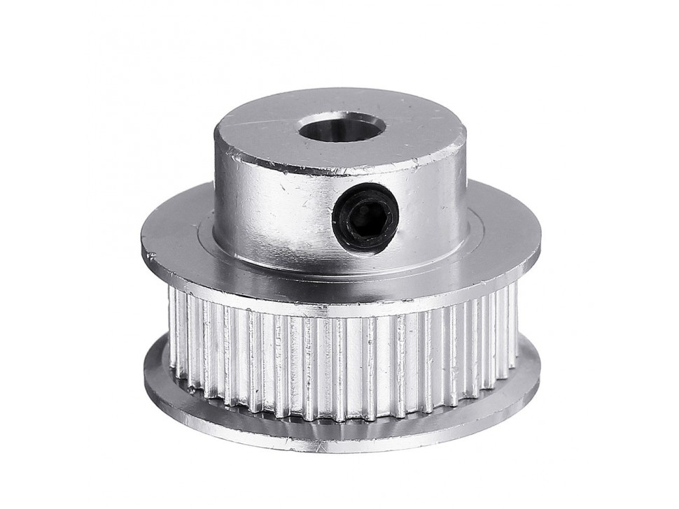 Aluminum GT2 Timing Pulley - 6mm Belt - 30 Tooth - 8mm Bore