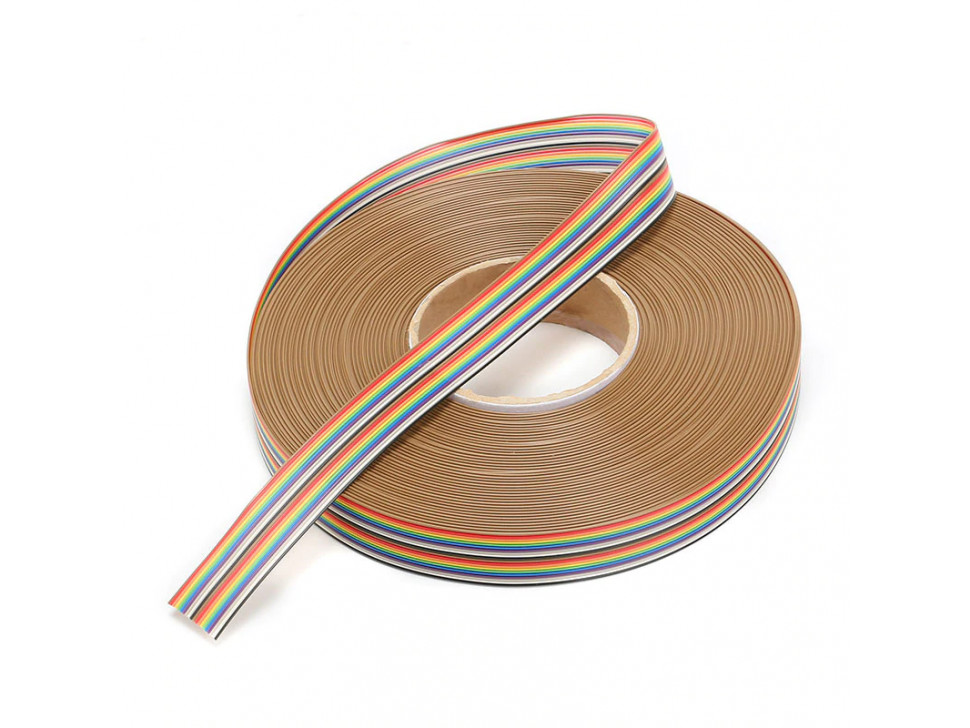 Dupont Cable 1 Meter Rainbow 1.27mm