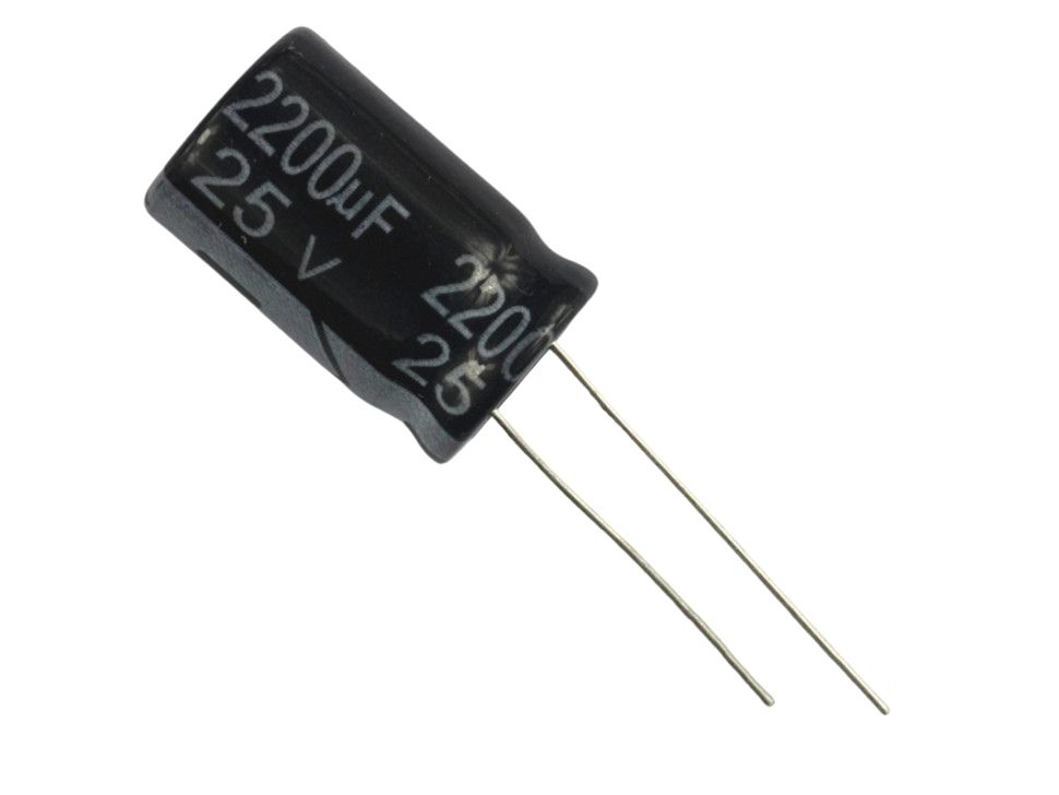 Capacitors Electrolytic 2200uF 25V Pack of 10