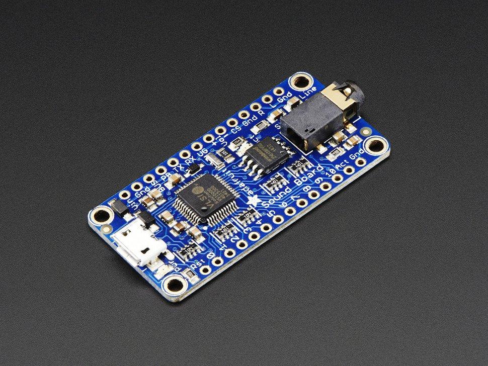 Audio FX Sound Board WAV-OGG Trigger with 16MB Flash Adafruit