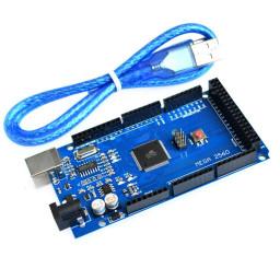 Arduino Mega 2560 R3 ATmega2560-16AU CH340G Board + USB Cable