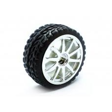 Rubber Wheel D65mm for Arduino Robotics