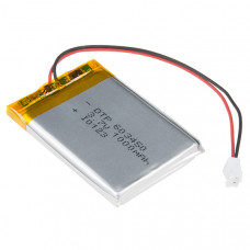 Battery 3.7V Polymer Lithium Ion 1000mAh