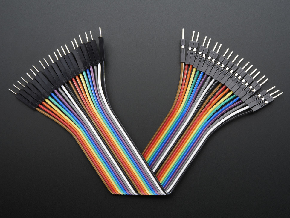 Jumper Wires Male - Male 30cm 20PCS