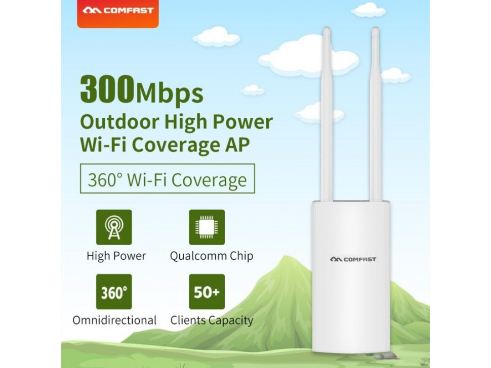 Comfast Wireless AP Base Station CF-EW71 Outdoor High Power WiFi Coverage