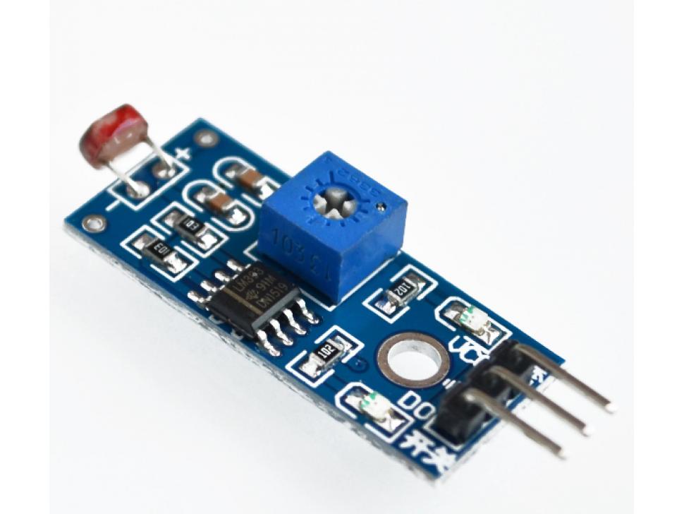 Light Sensor Photoresistor Module for Arduino