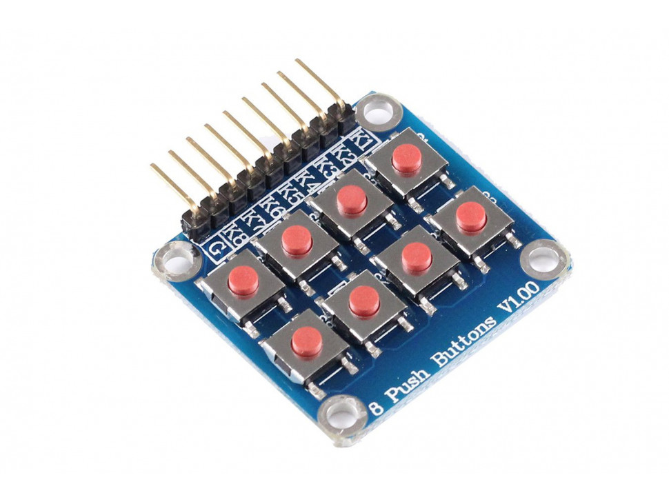 Keypad 2x4 8 Buttons Module for Arduino