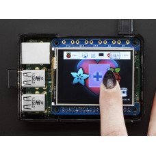 "PiTFT 2.4"" HAT Mini Kit - 320x240 TFT Touchscreen Adafruit"