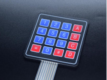 Button Pad Sealed Membrane 4X4 With Sticker