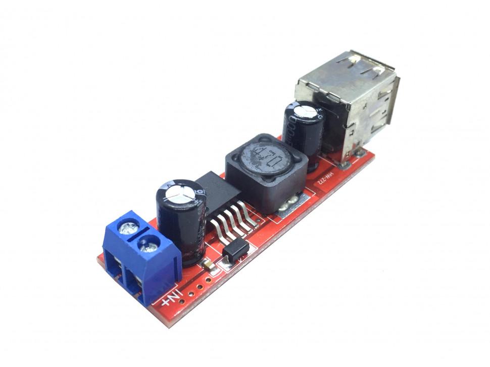 DC to DC Step Down Buck Converter Module 9 - 36V to 5V Dual USB Output