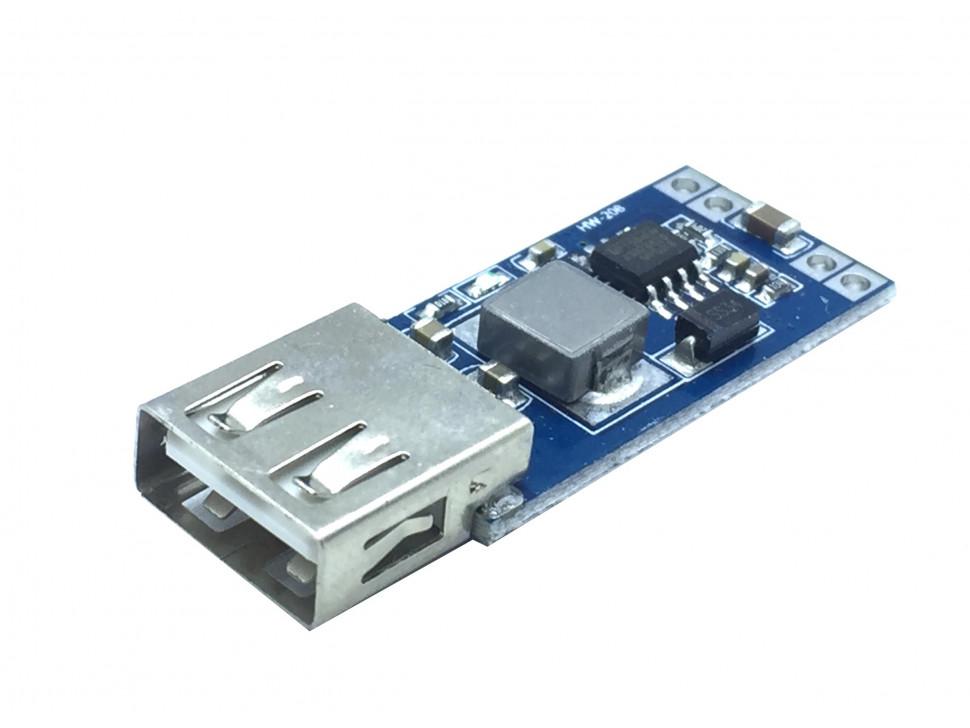 DC to DC Converter 9-28V to 5V 3A USB Step Down Power MP1584 Module