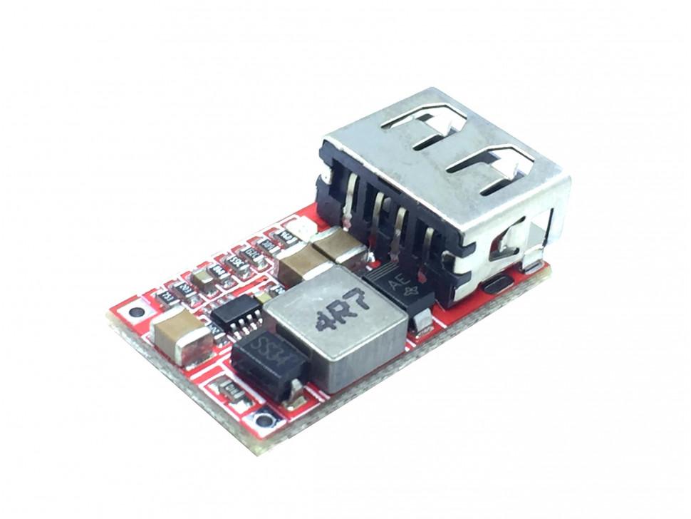 DC 6-24V to 5V USB Output Step Down / Buck Module