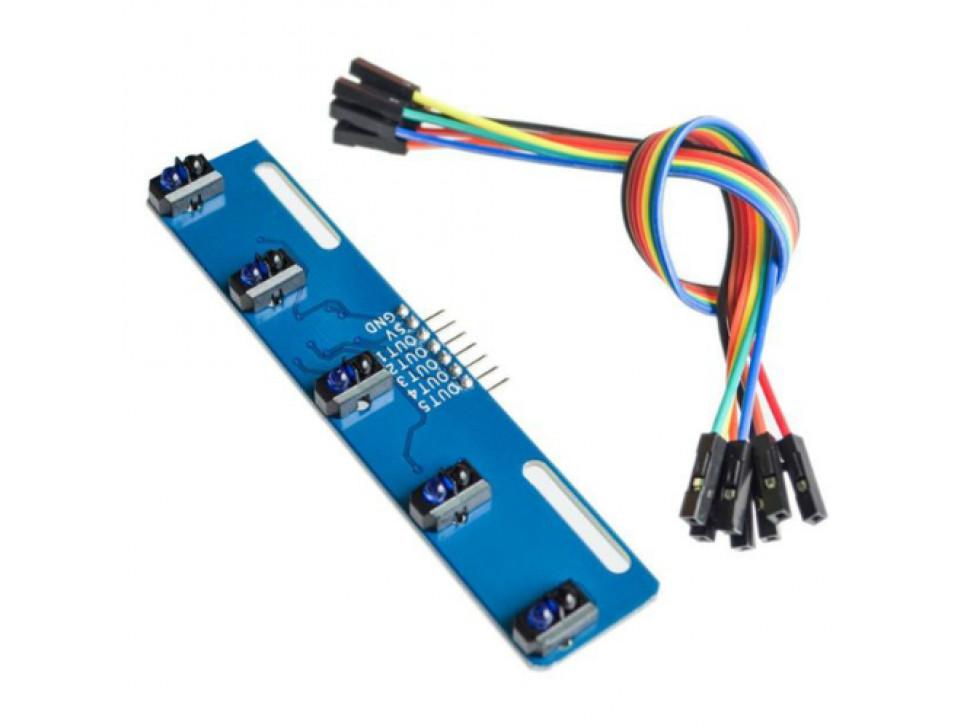 Line Tracking Sensor 5 Channel Module