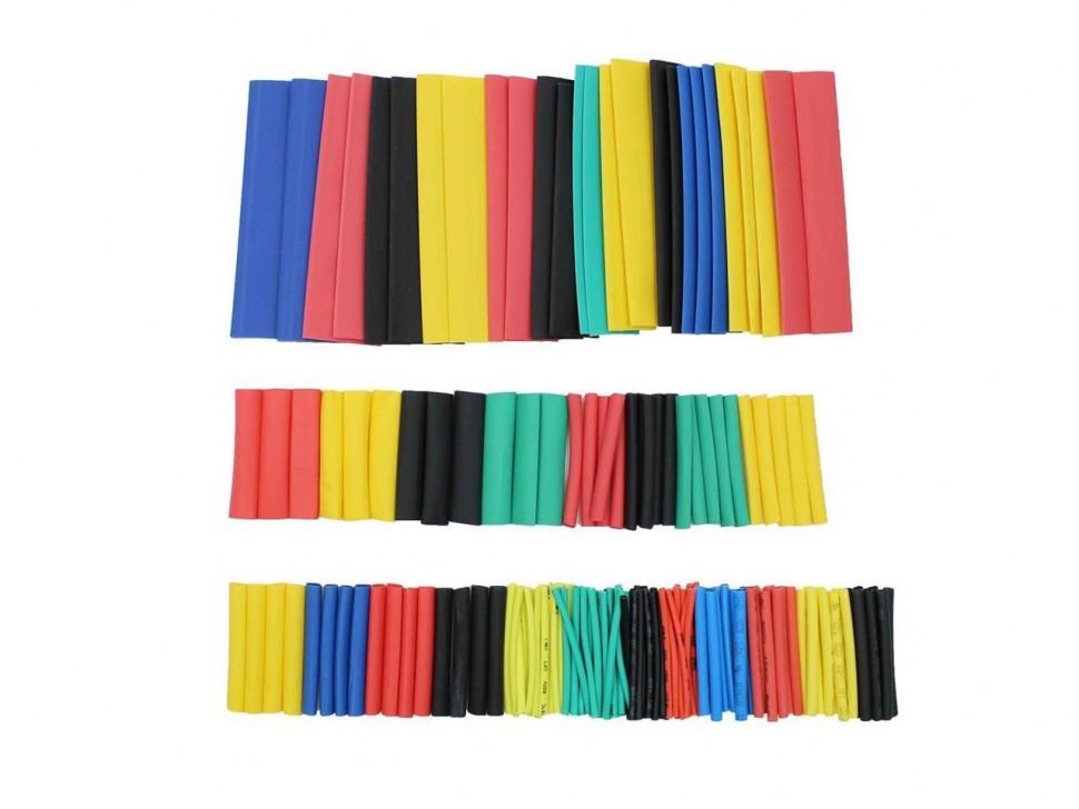 Heat Shrink Pack Tubing Multi-Colored 140 PCS