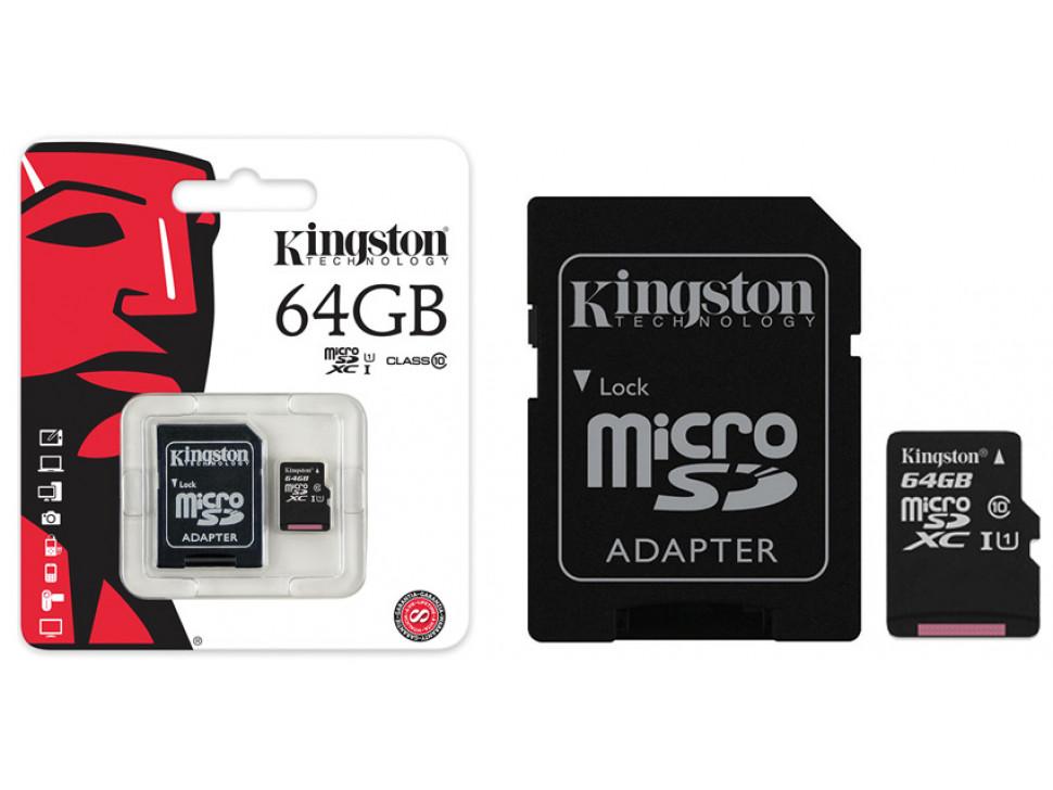 SD MicroSD Memory Card 64GB Class10 SDHC for Raspberry Pi